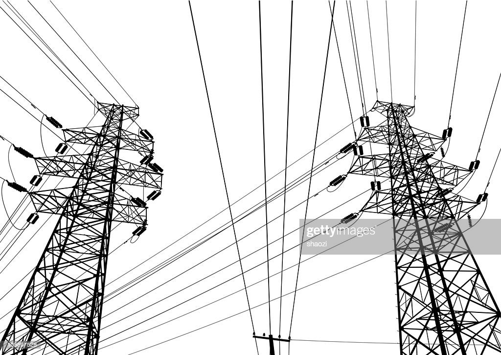 Highvoltage Wire Vector Art | Getty Images