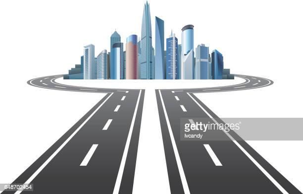 Highway to city