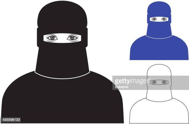 Hijab Muslim Color Set