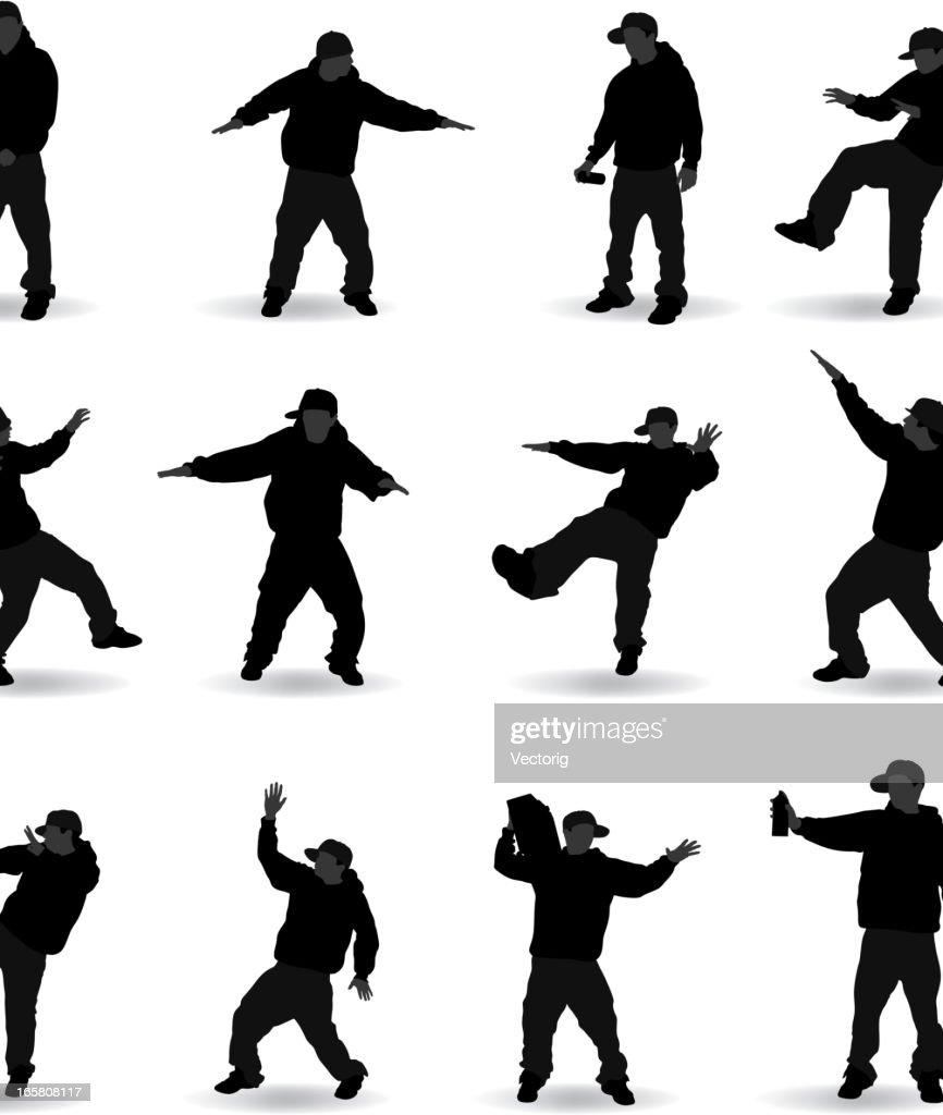 Hip Hop rap gang