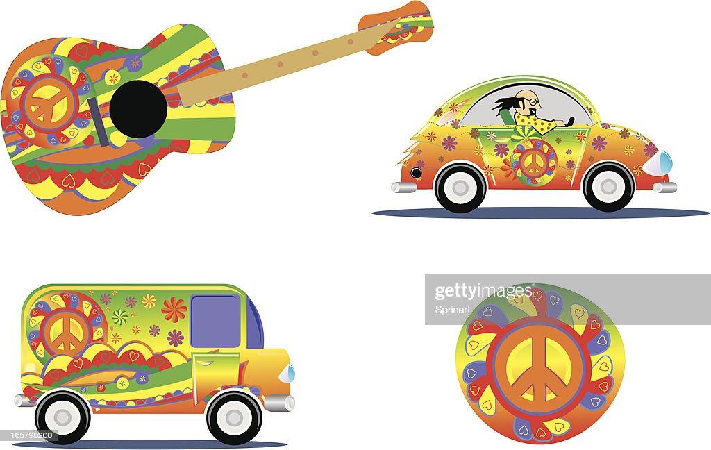 hippie design details