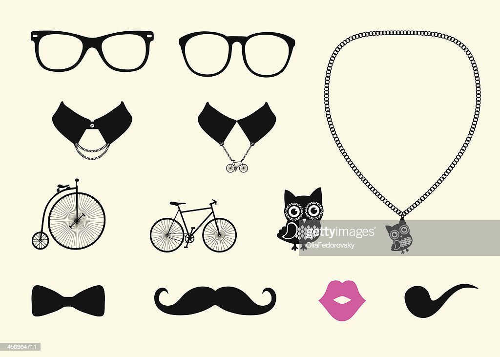 Hipster Accessory Set