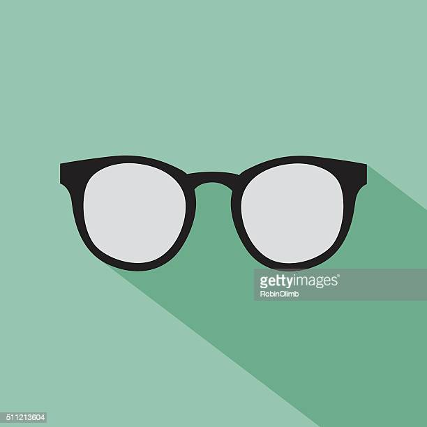 Hipster Glasses Icon