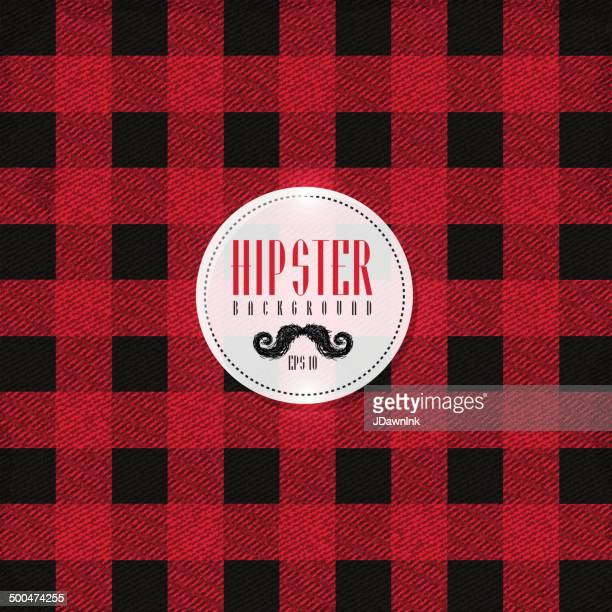 Hipster lumberjack print, plaid or Flannel pattern
