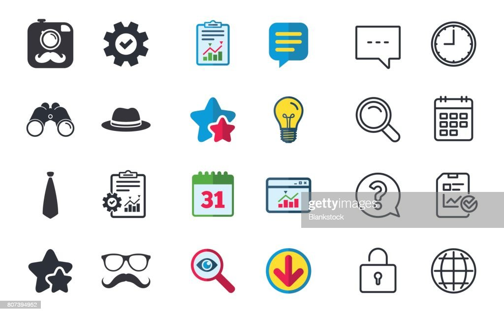Hipster Photo Camera Icon Glasses Symbol Vector Art Getty Images