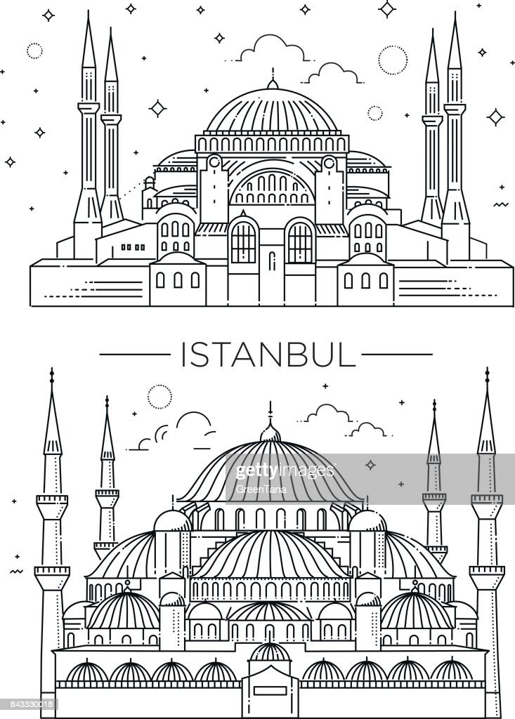 Historic landmarks, sightseeings, famous showplaces of Turkey.