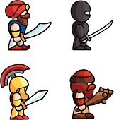 Historical battle characters
