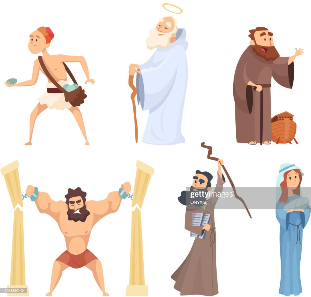 Historical illustrations of christian characters of holy bible