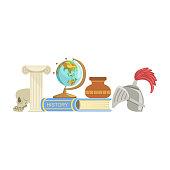 History Class Set Of Objects