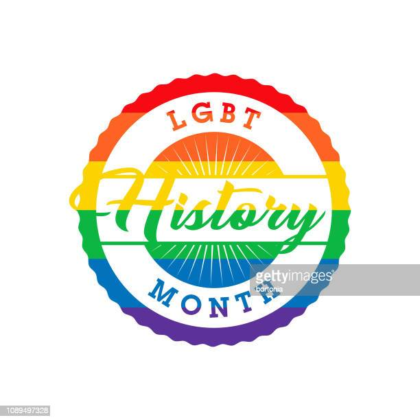 lgbt history month label - marriage equality stock illustrations, clip art, cartoons, & icons