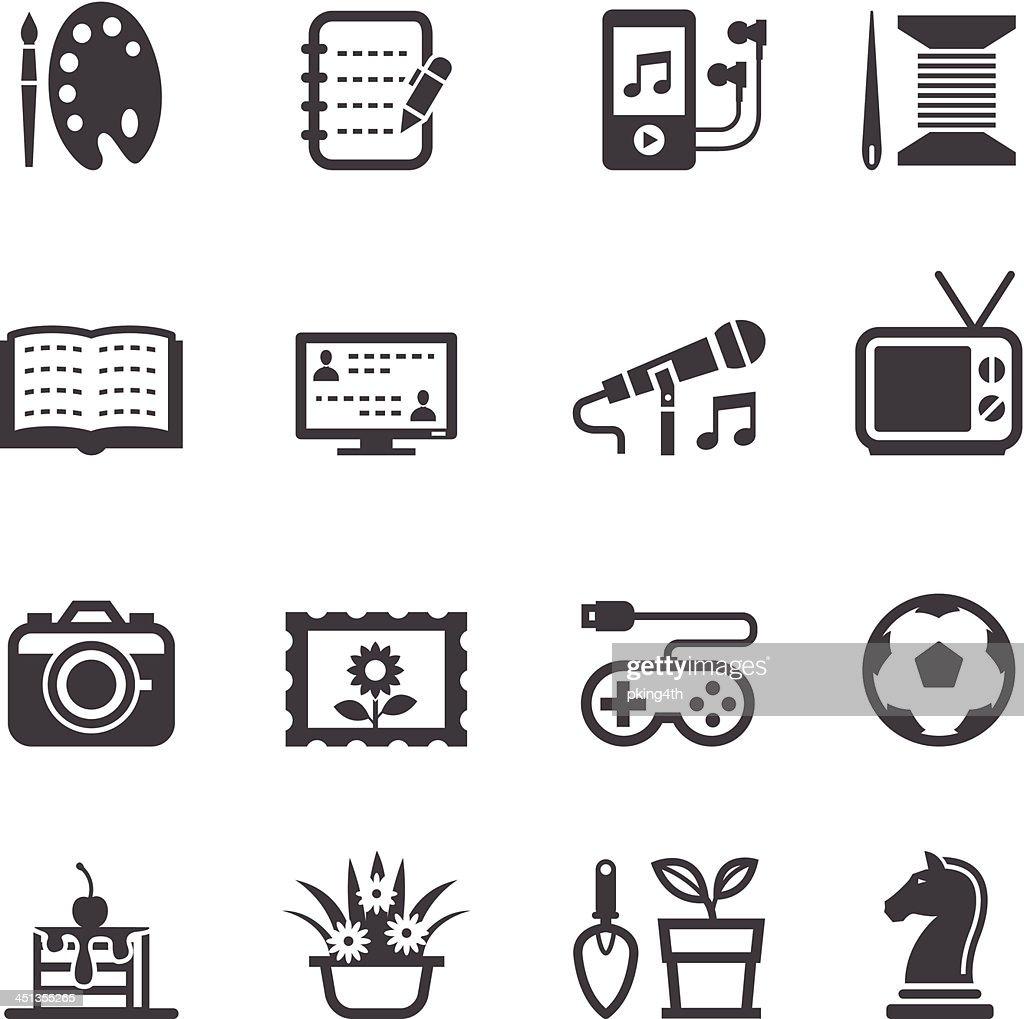 Hobbies Icons