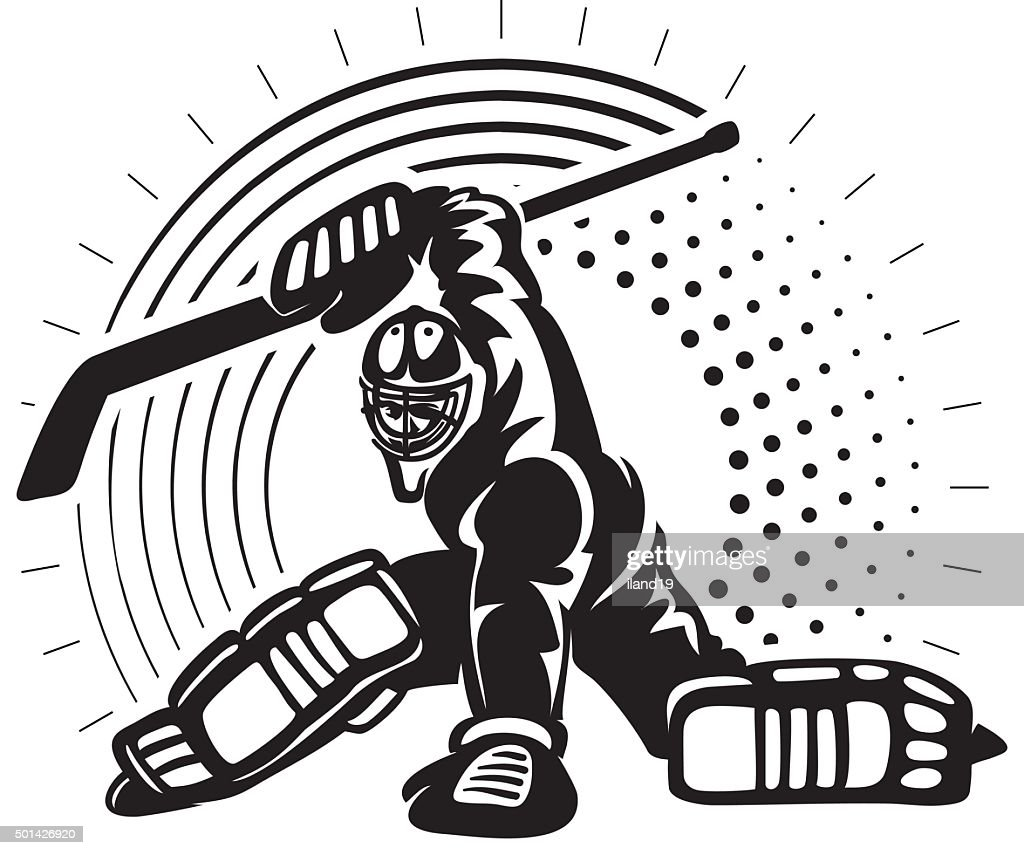 Hockey goaltender