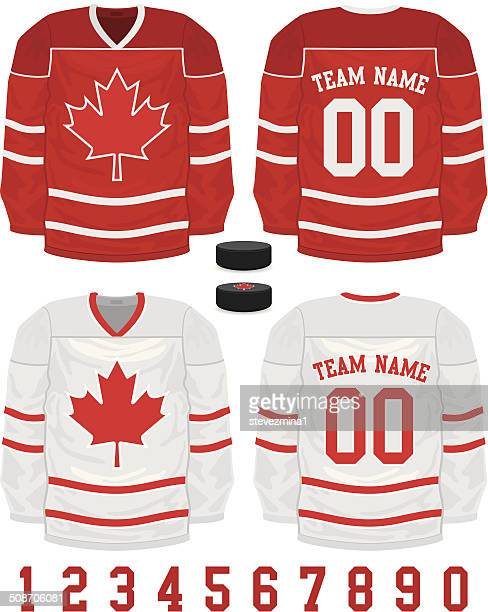 hockey jersey - sports jersey stock illustrations