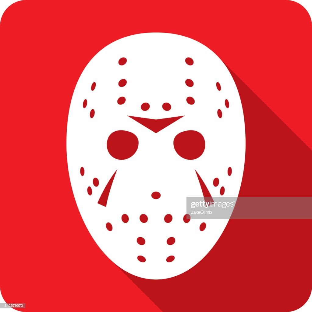 Hockey Mask Icon Silhouette