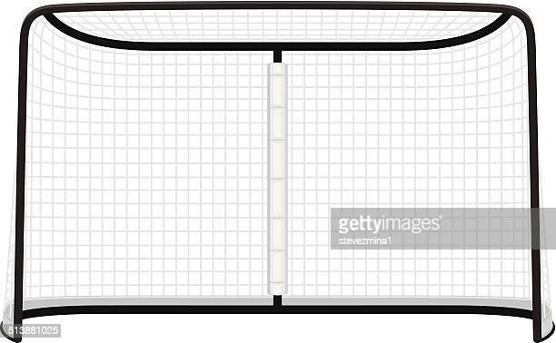 ilustraciones, imágenes clip art, dibujos animados e iconos de stock de net de hockey - hockey sobre hierba
