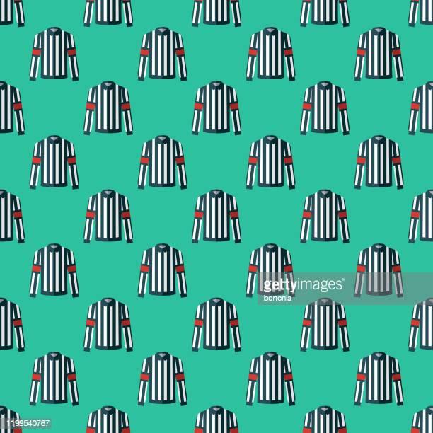 hockey referee jersey pattern - jersey fabric stock illustrations