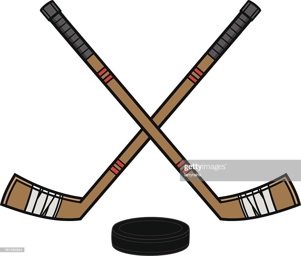 Hockey Sticks & Puck