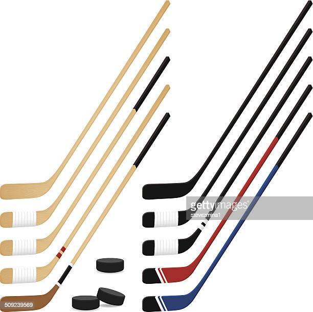 ホッケースティック - アイスホッケースティック点のイラスト素材/クリップアート素材/マンガ素材/アイコン素材