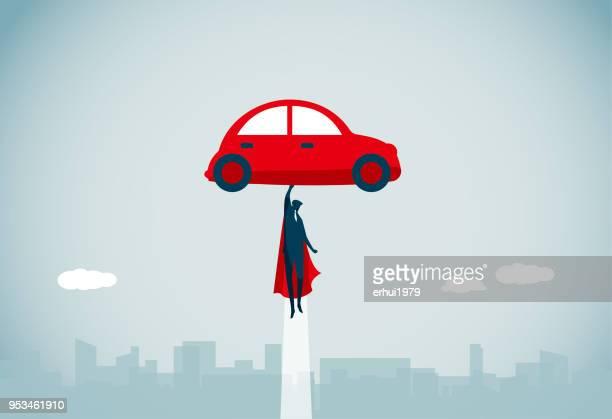 ilustrações, clipart, desenhos animados e ícones de segurando no mastro - voando