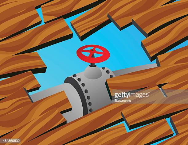 hole in the floor with pipe - hardwood floor stock illustrations, clip art, cartoons, & icons