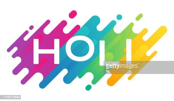 ilustraciones, imágenes clip art, dibujos animados e iconos de stock de holi festival de colores - lanzar actividad física