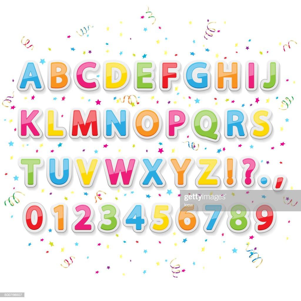 Holiday alphabet