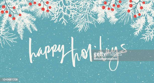 holiday background - winter stock illustrations