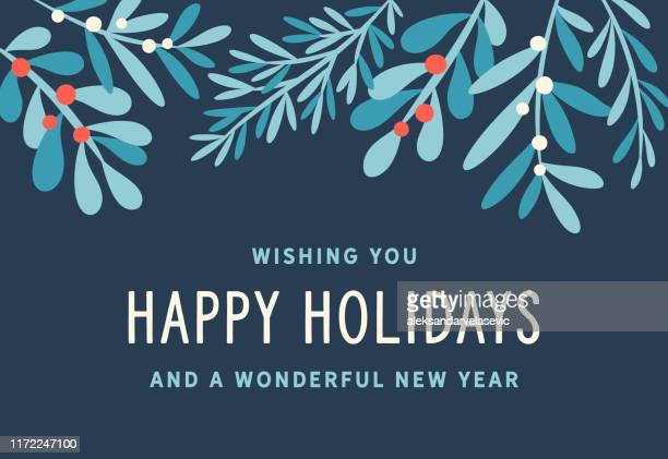 holiday background - greeting card stock illustrations