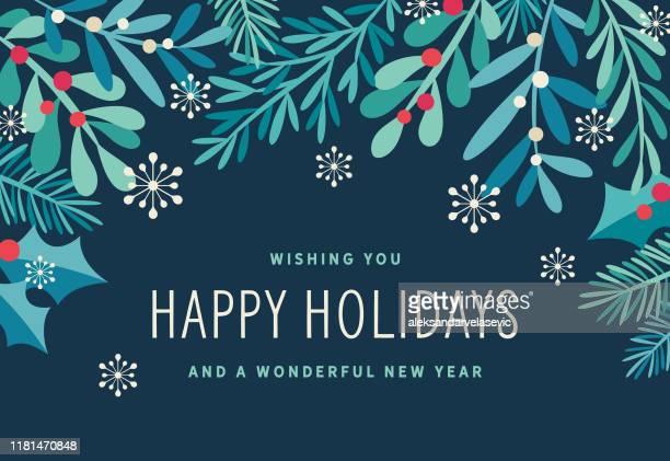 holiday background - public celebratory event stock illustrations