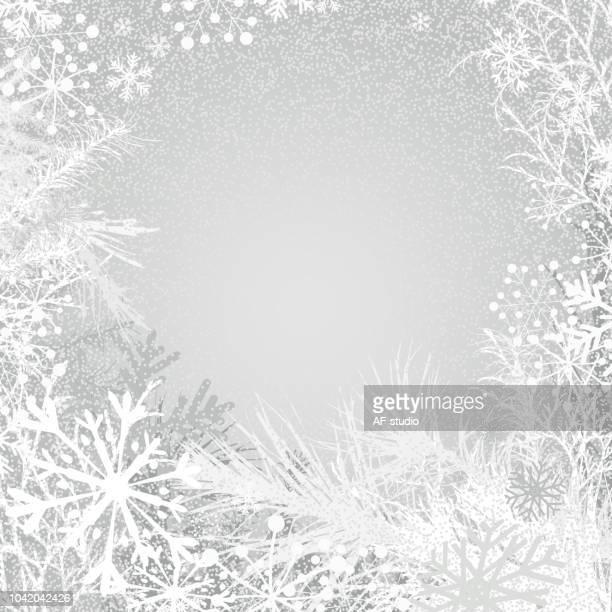 urlaub-hintergrund mit beerenobst - tannenzweig stock-grafiken, -clipart, -cartoons und -symbole