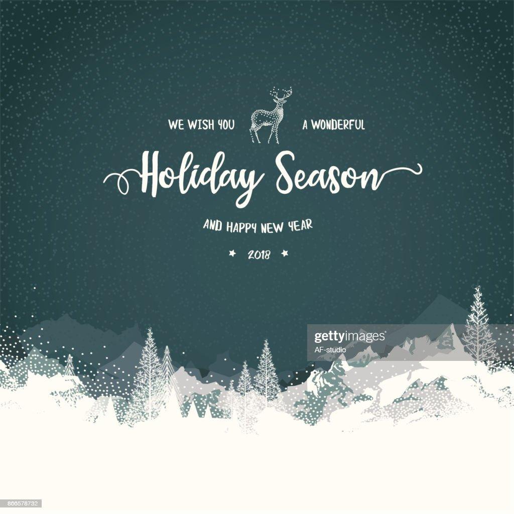 Holiday bakgrund med berg : Illustrationer
