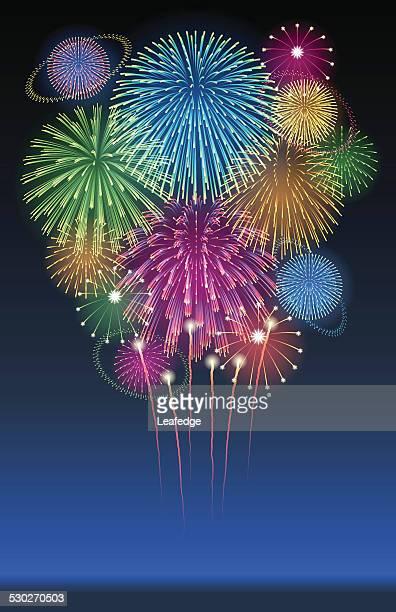 Holiday background[Fireworks]