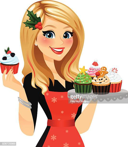 Holiday Baker Woman
