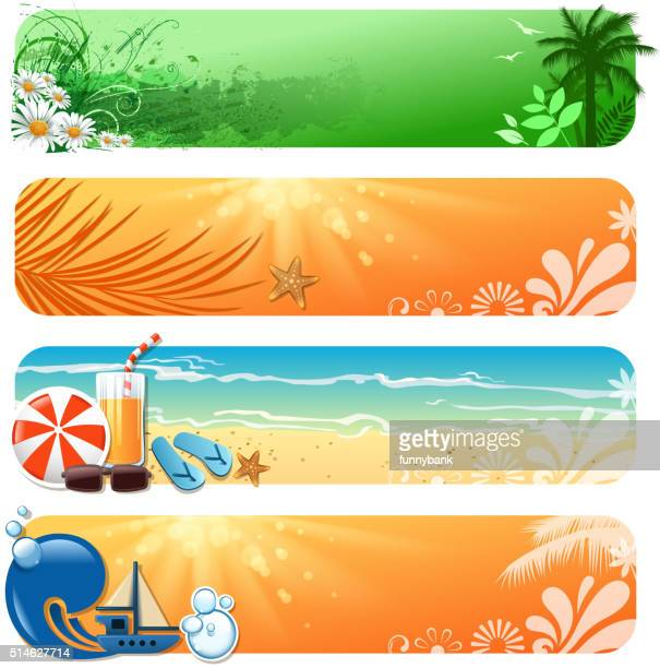 holiday banner - fruit juice stock illustrations, clip art, cartoons, & icons