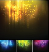 Holiday blurred light background
