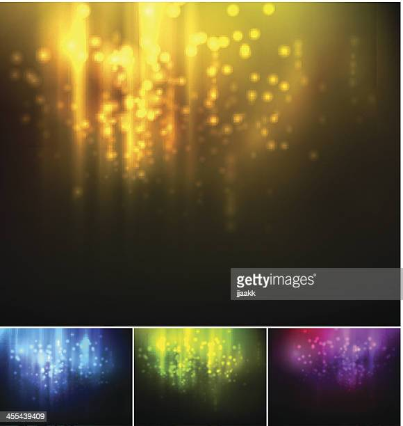 holiday blurred light background - lighting equipment stock illustrations, clip art, cartoons, & icons