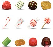 Holiday Candy Icons