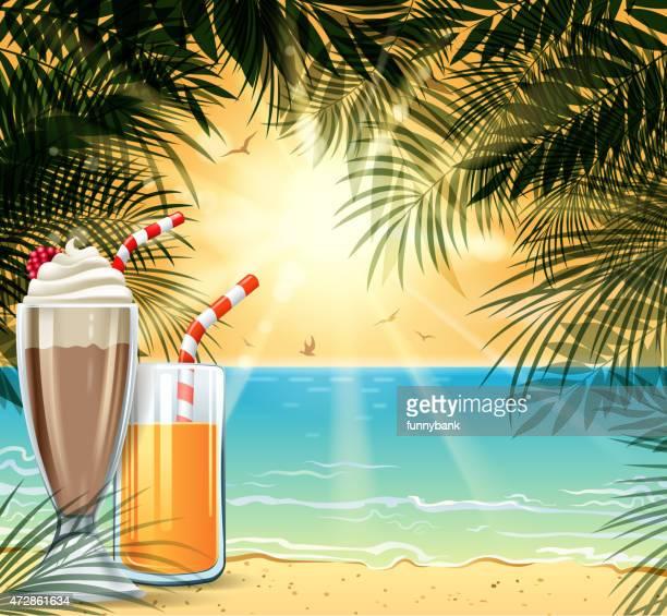 holiday enjoy - milk chocolate stock illustrations, clip art, cartoons, & icons