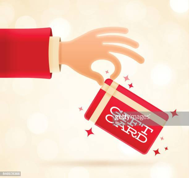 ホリデーギフトカード - クリスマスマーケット点のイラスト素材/クリップアート素材/マンガ素材/アイコン素材