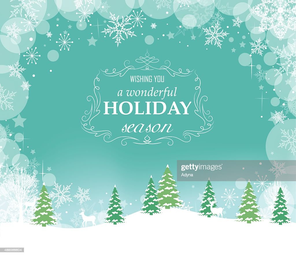 Holiday Greeting : stock illustration
