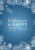 Holiday greeting - vector