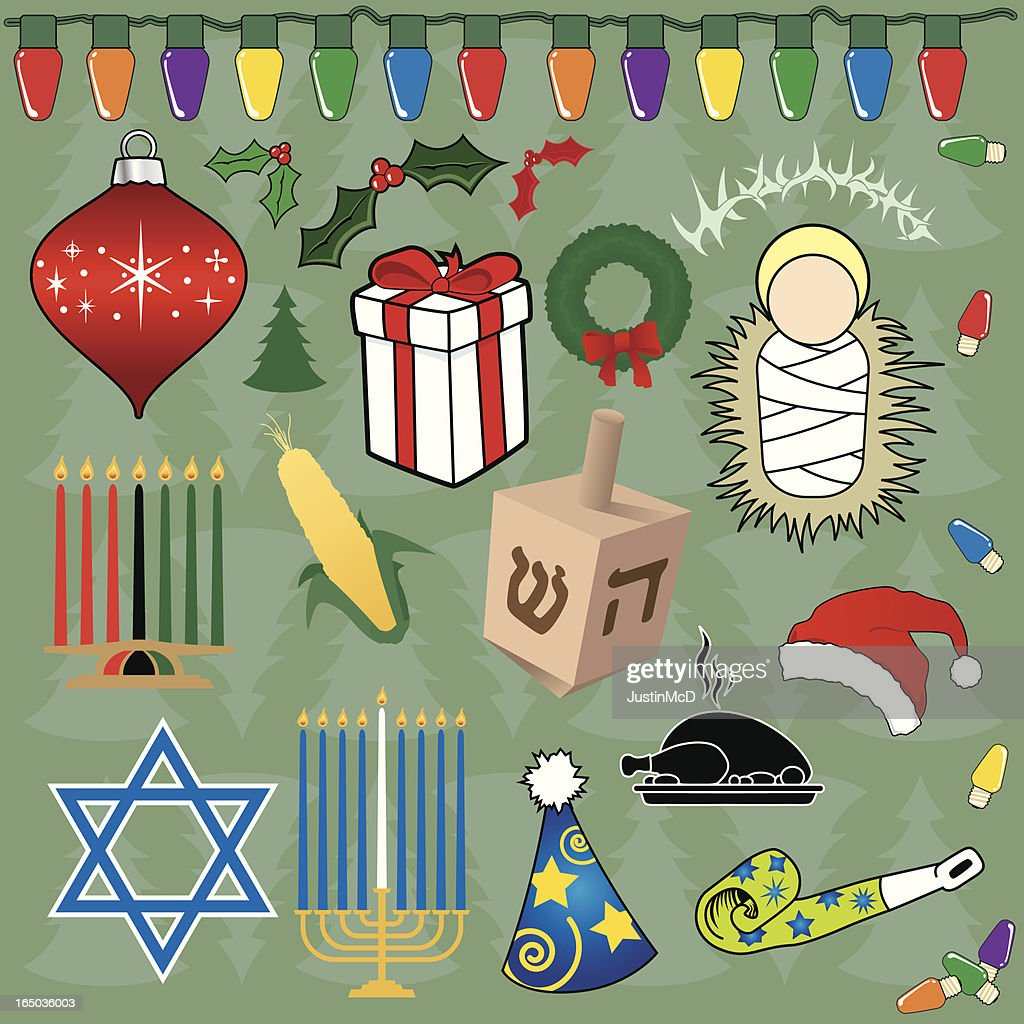 Holiday Icons (vector)