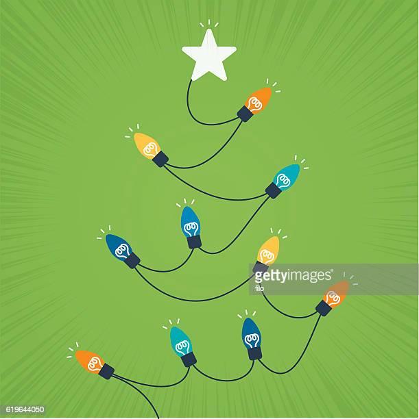 Holiday Light Tree
