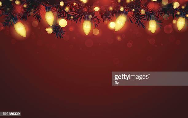 Holiday Lights Background