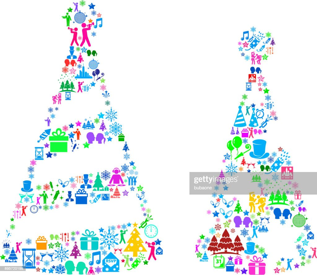 40b7be725 Holiday Party Hats New Year Celebration Party stock illustration ...