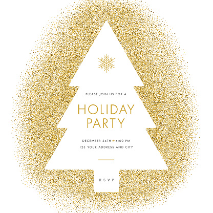 Holiday party invitation. - gettyimageskorea