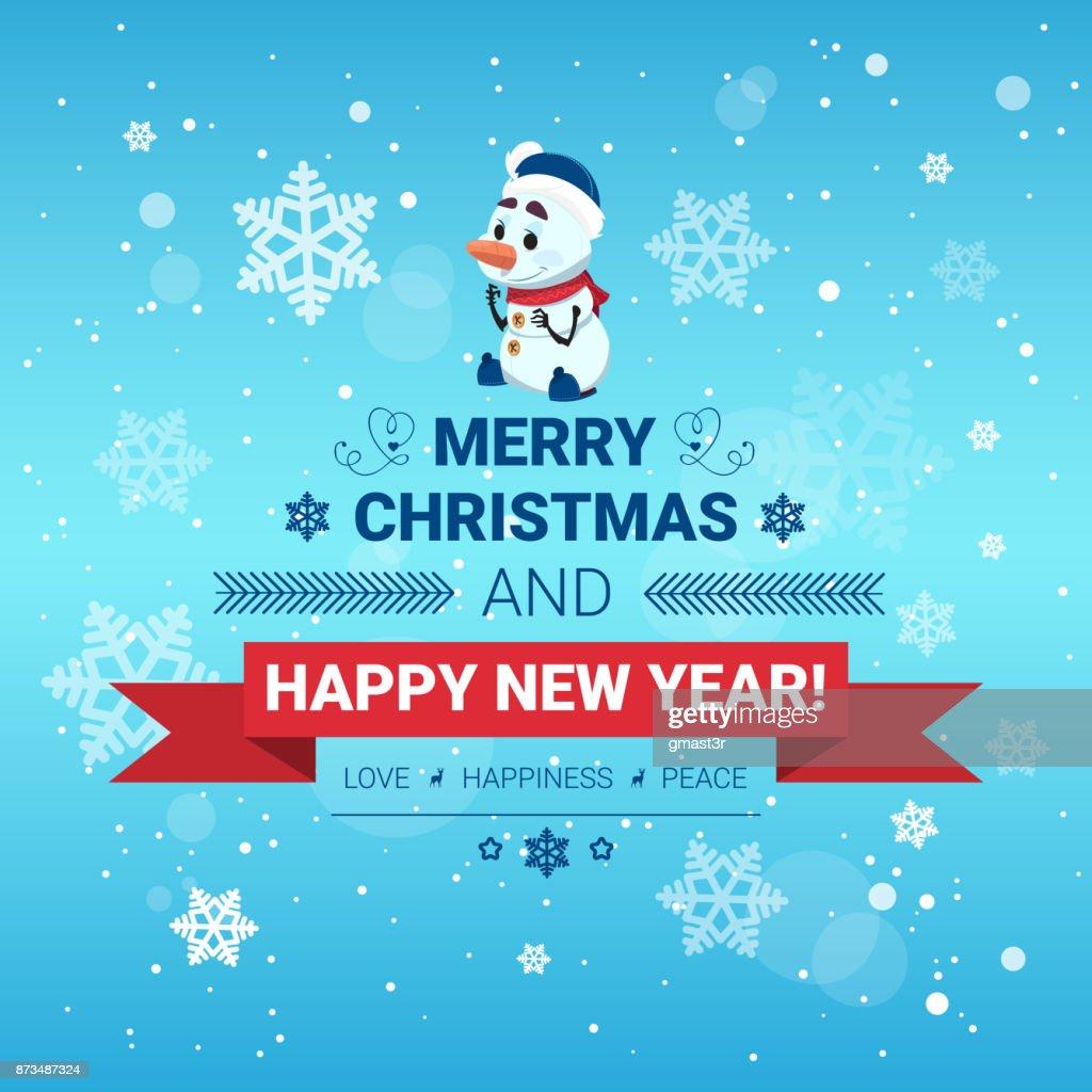 Urlaub Poster Frohe Weihnachten Und Happy New Year Nachricht ...