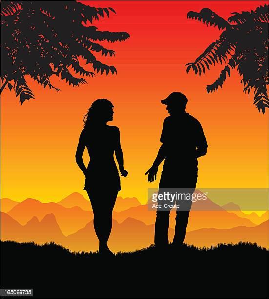 Holiday romance beginning