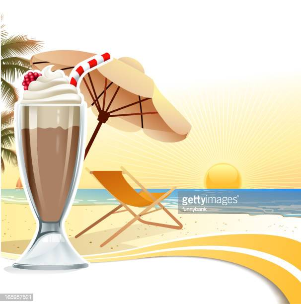 holiday scene - milk chocolate stock illustrations, clip art, cartoons, & icons