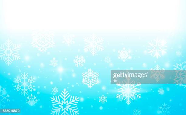 Holiday Snowflakes Background